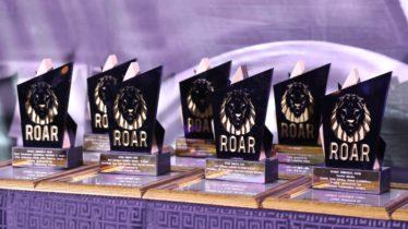 AAXO ROAR awards trophy