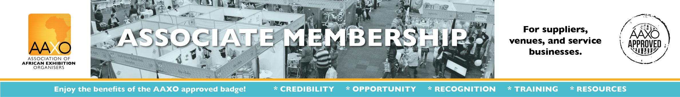 AAXO Associate membership