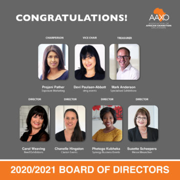 AAXO congrats new board